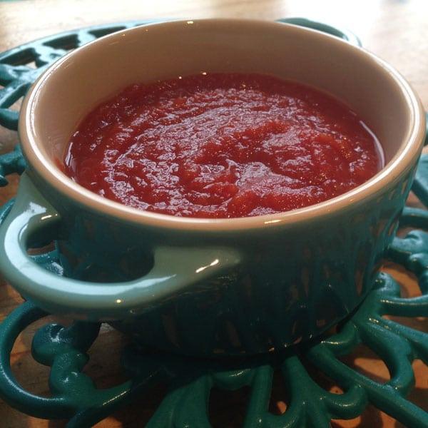Sneaky veg homemade tomato ketchup