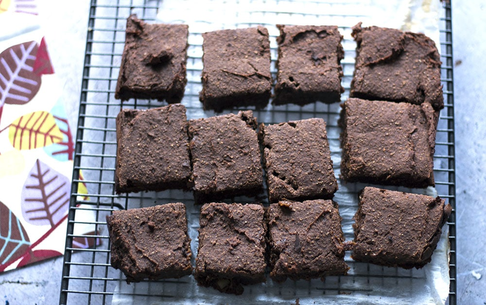 sweet potato chocolate brownies