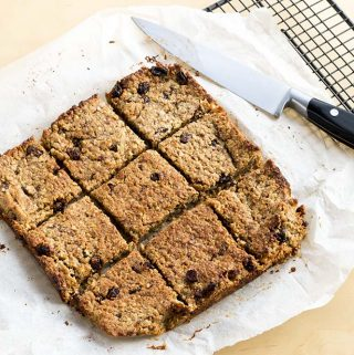 Healthy flapjacks recipe for kids by Sneaky Veg