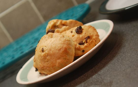 Sun dried tomato and olive savoury scones recipe by sneaky veg