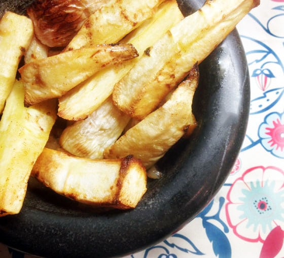 parsnip and turnip chips