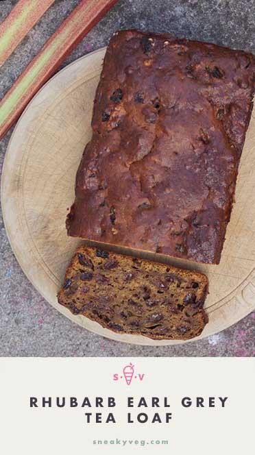 RHUBARB EARL GREY TEA CAKE