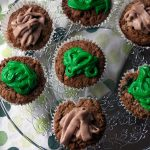 chocolate and spinach cupcakes recipe by Sneaky Veg