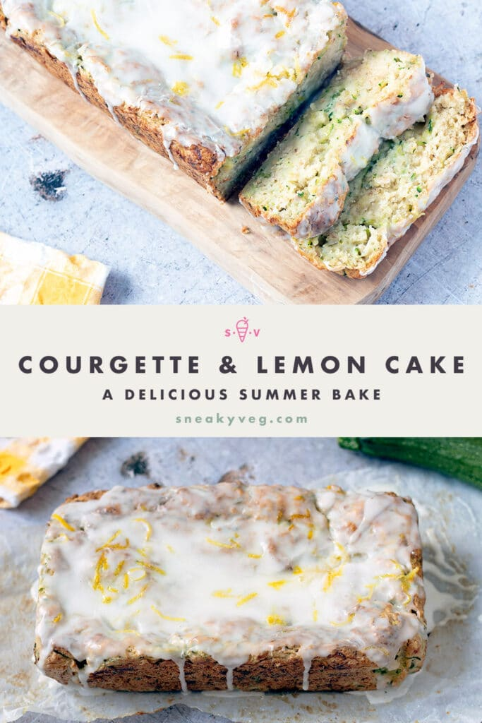 courgette and lemon cake