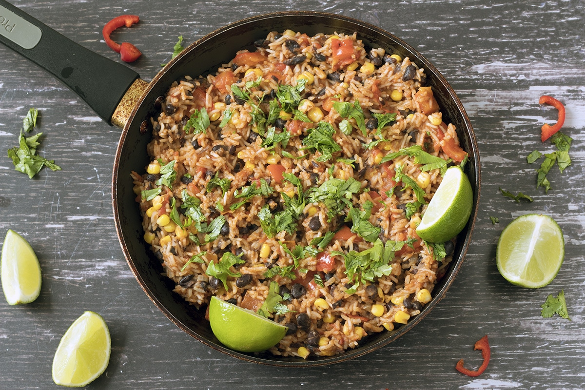 Easy Mexican Rice With Chipotle And Black Beans Sneaky Veg