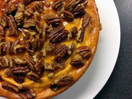 sweet potato cheesecake recipe by Sneaky Veg