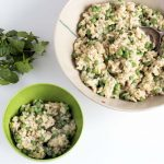 pea and mint risotto for babies