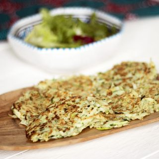 courgette potato fritters