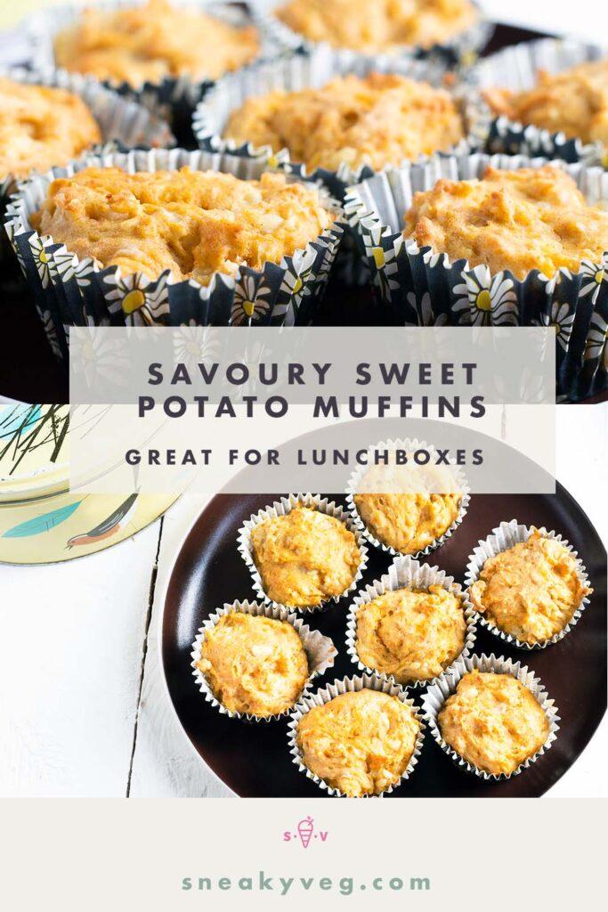 savoury sweet potato muffins