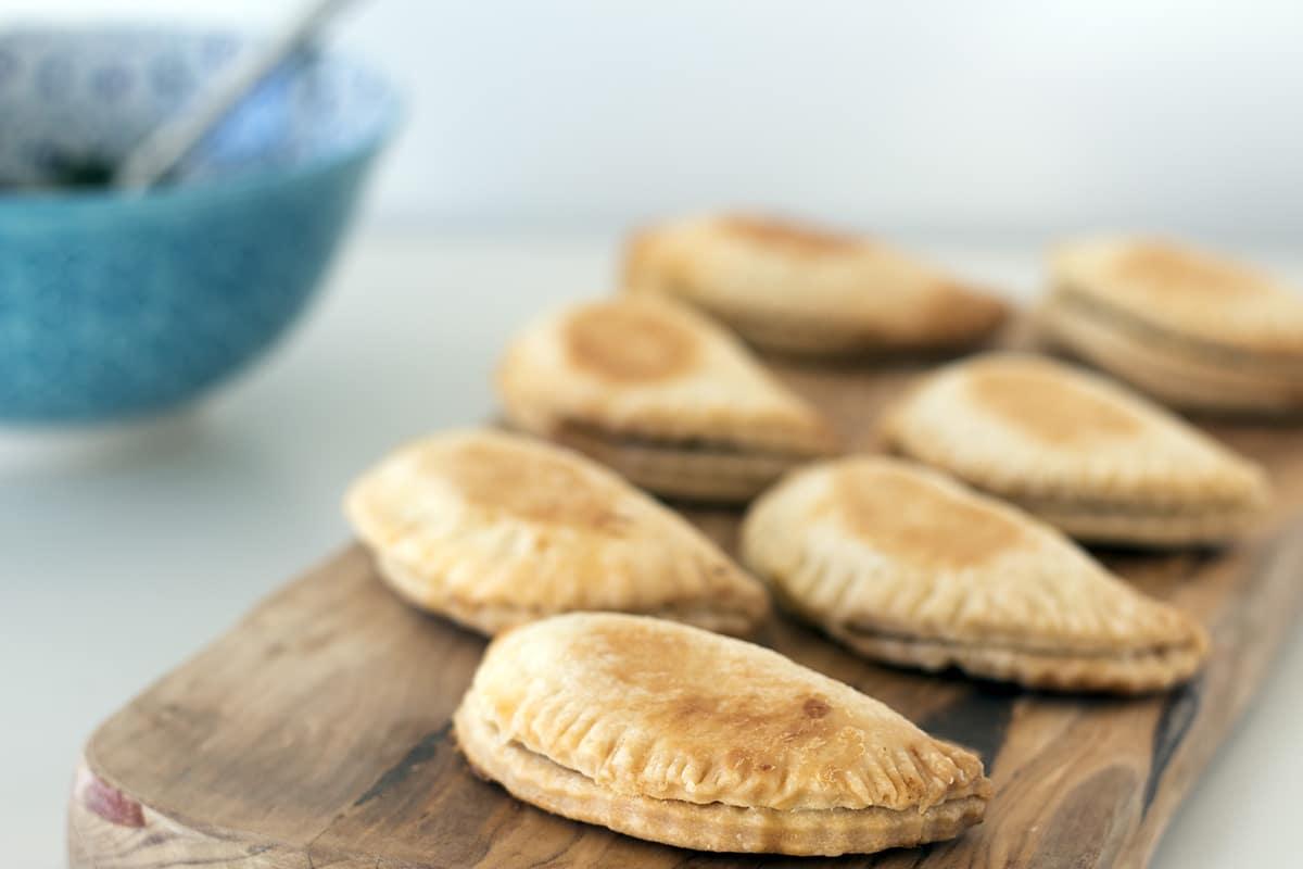 humita empanadas. Recipe by Sneaky Veg