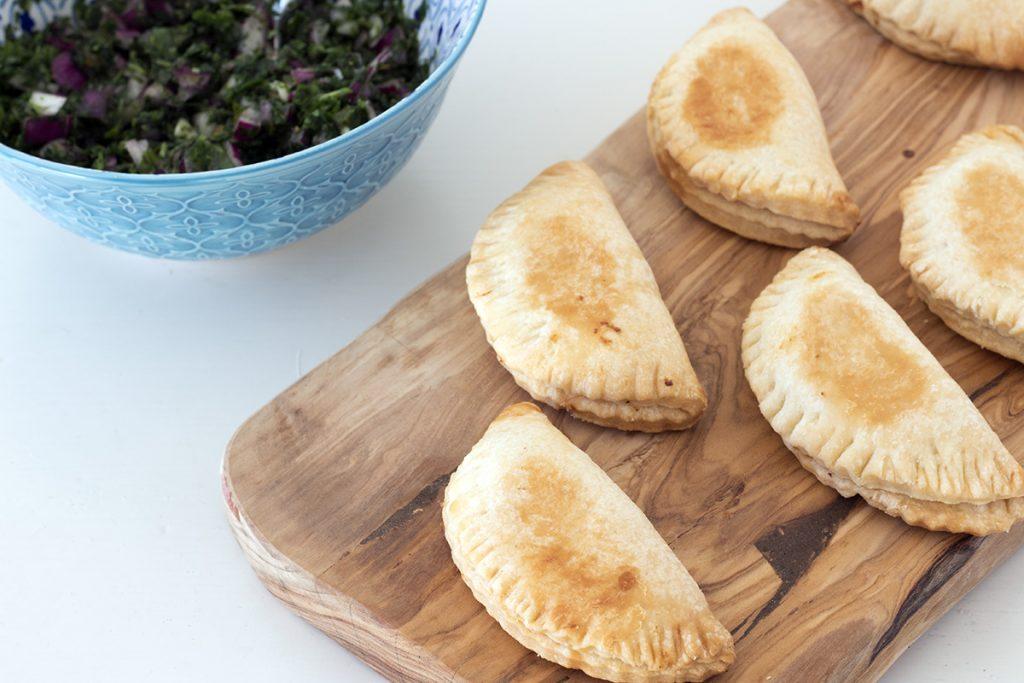 sweetcorn empanadas by Sneaky Veg