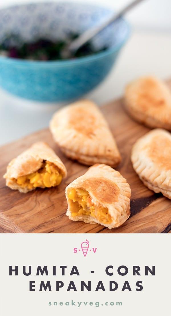 corn empanadas by Sneaky Veg