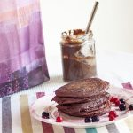 chocolate beetroot pancakes