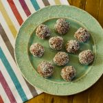 raw blackberry energy balls