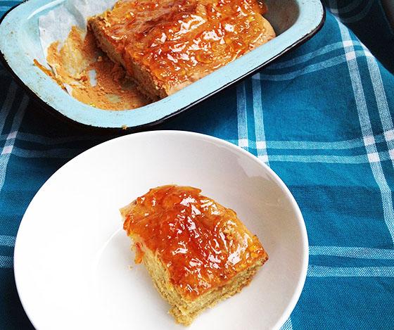 ginger marmalade sponge pudding