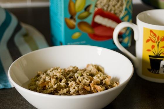 carrot cake overnight oats recipe