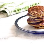 courgette banana buckwheat pancakes