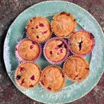 redcurrant muffins