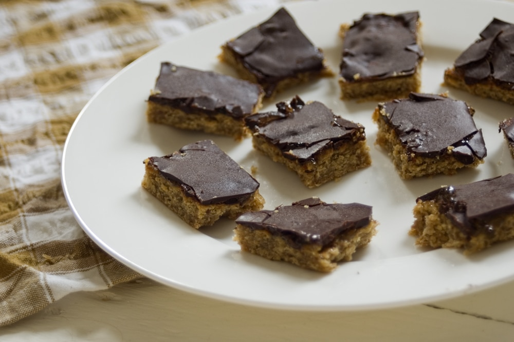 oaty jaffa cake bars