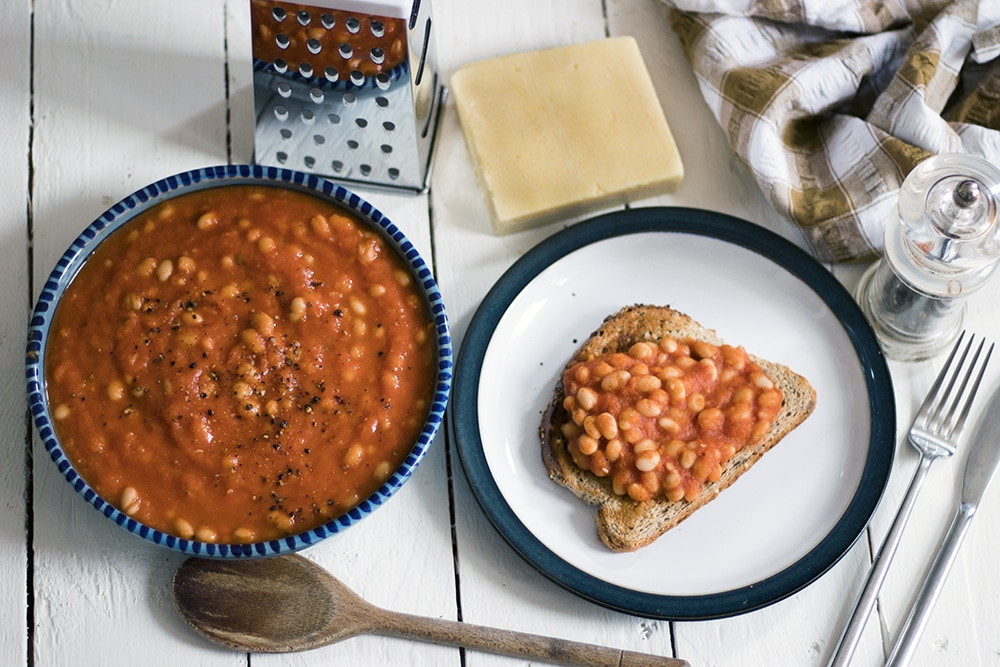 homemade stove top baked beans