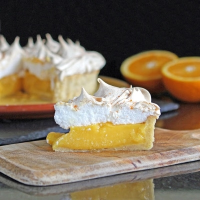 Gluten Free Alchemist Orange Lime Meringue Pie
