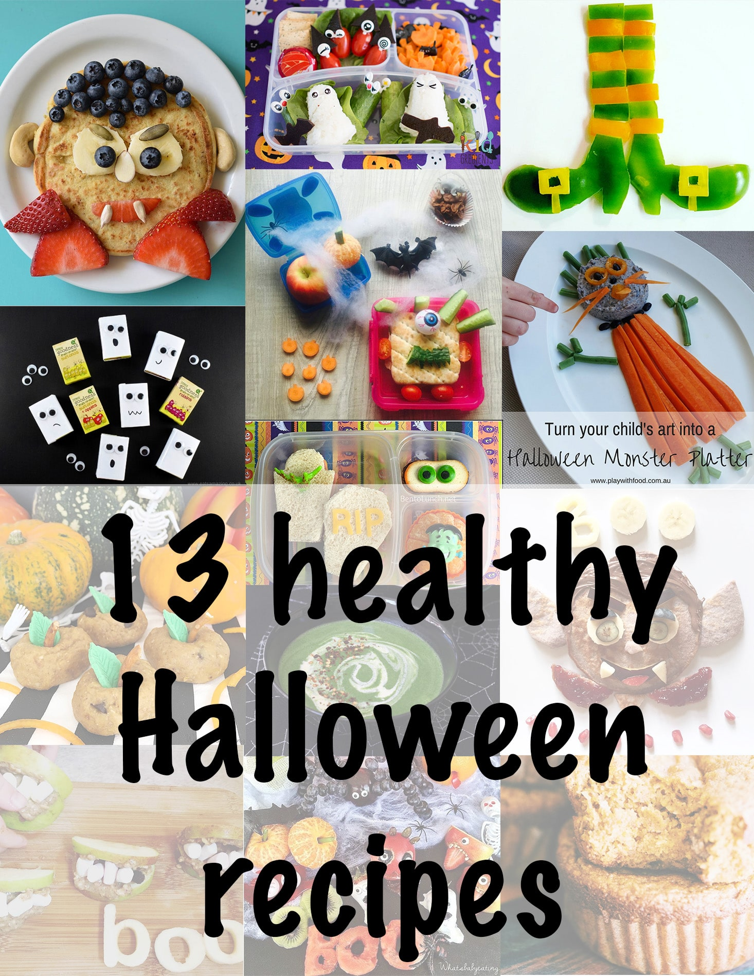 healthy halloween treats for kids to enjoy by Sneaky Veg