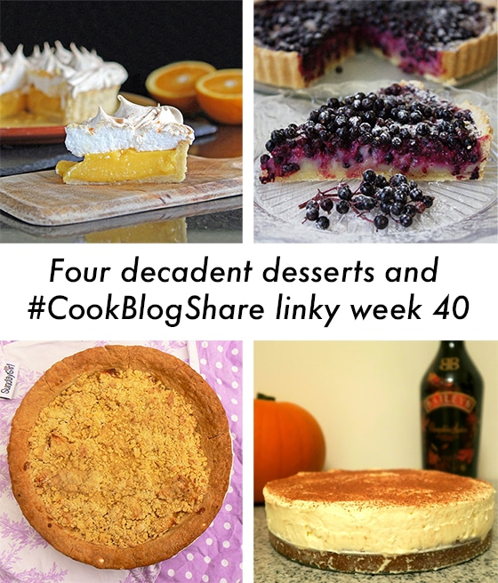four decadent desserts - Cook Blog Share