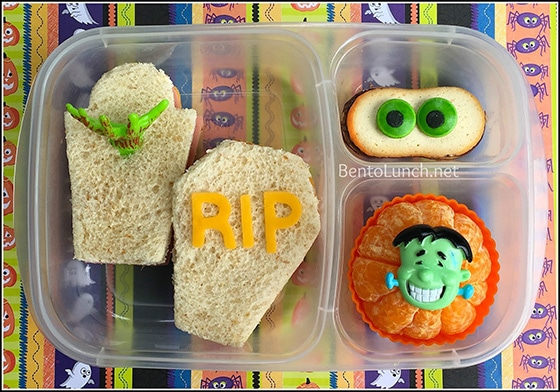 halloween bento lunch by Bento Lunch - healthy halloween treats