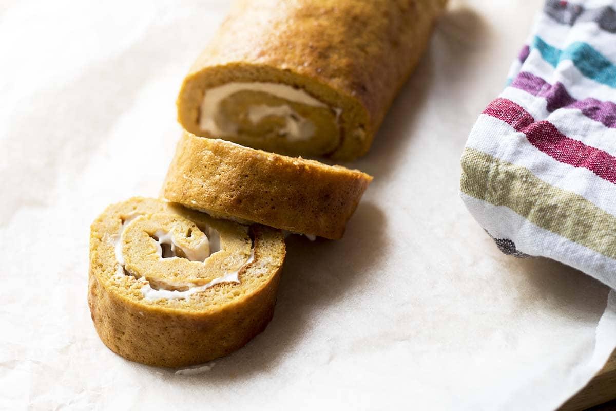 sweet potato swiss roll