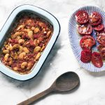 Greek-style baked beans