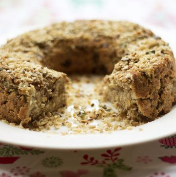parsnip and chestnut Christmas nut roast