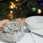 Christmas pudding cinnamon overnight oats