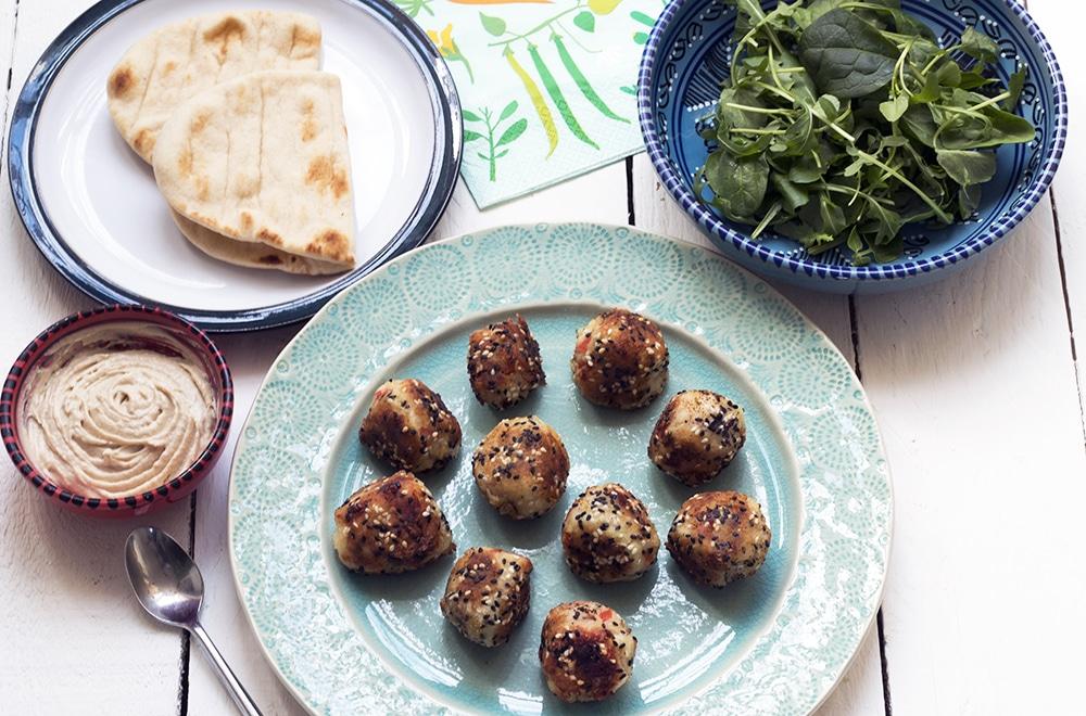 potato kofta recipe by Sally Butcher