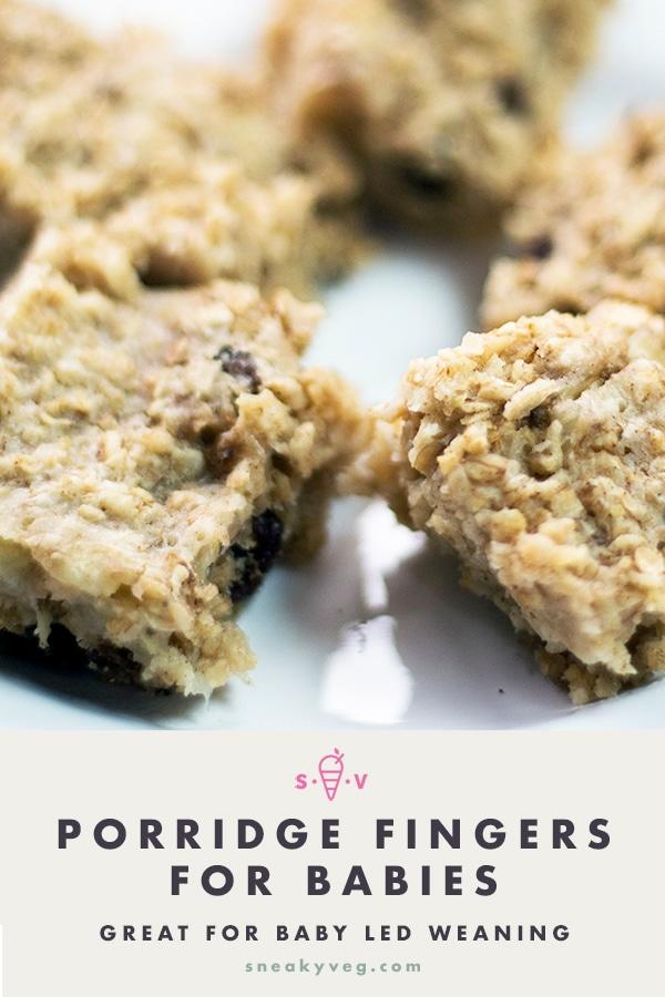 porridge fingers for babies