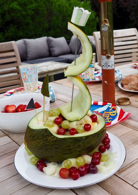 melon ship healthy kids party food