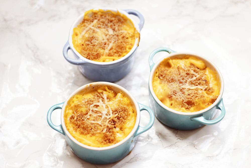 vegetable macaroni cheese