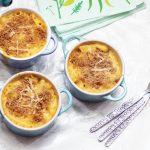 three vegetable macaroni cheese