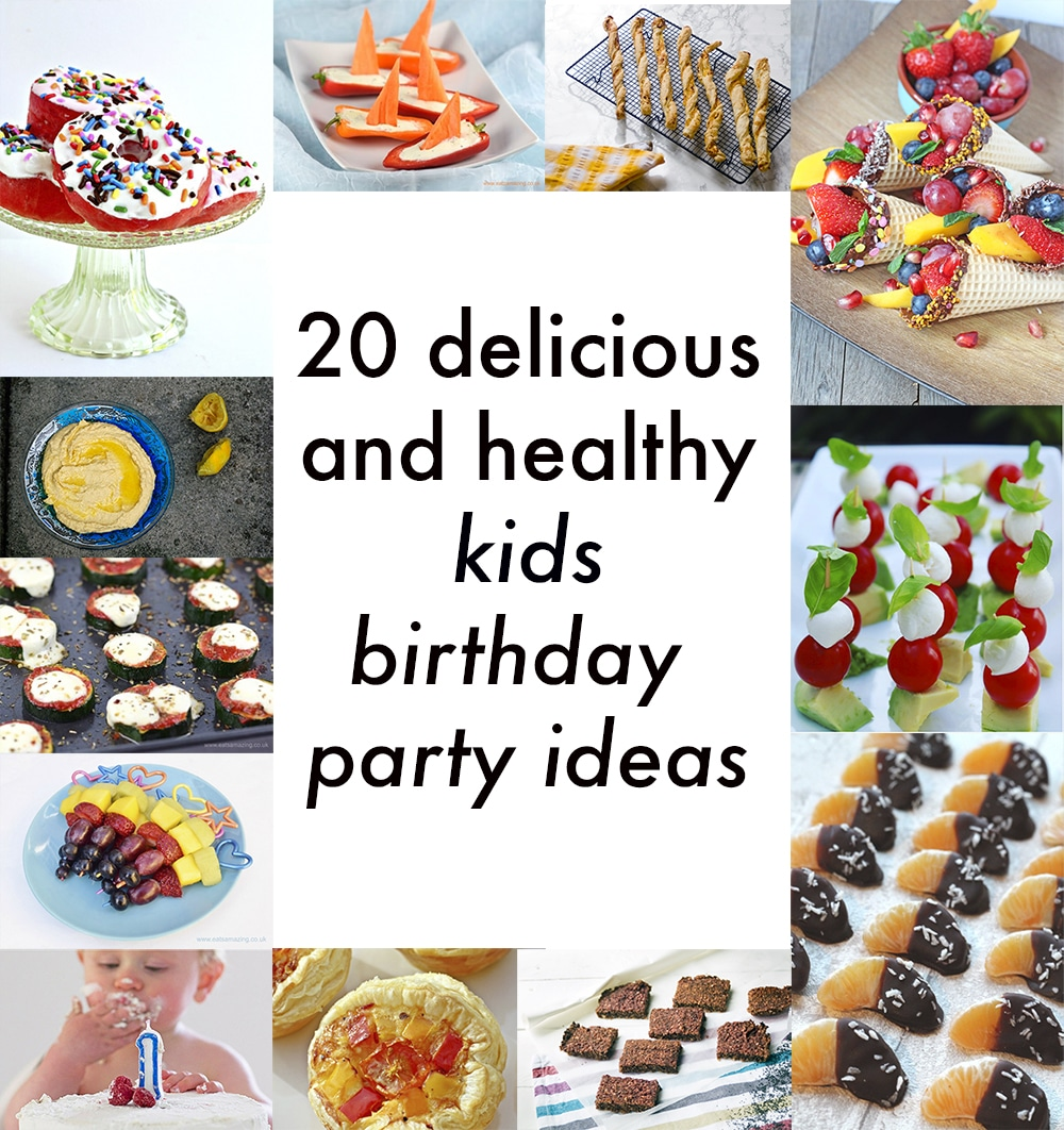 Birthday Party Dinner Menu Ideas Part - 26: Healthy Kids Party Food Ideas