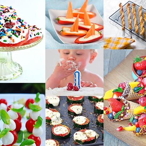 Surprising 20 Delicious Healthy Kids Party Food Ideas Sneaky Veg Personalised Birthday Cards Cominlily Jamesorg