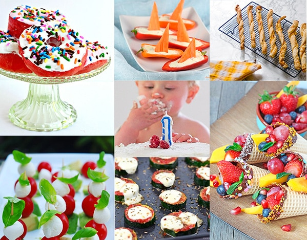 20 Delicious Healthy Kids Party Food Ideas