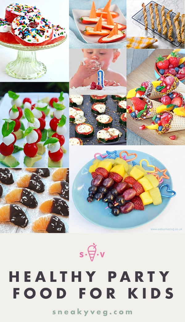 healthy party food ideas for kids
