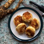 potato, cheese and parsnip cakes recipe by Sneaky Veg