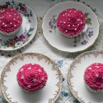 easy pink cupcakes