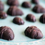 vegan fruit and nut chocolates