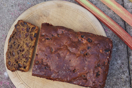 Fat Free Fruit Cake Made With Tea