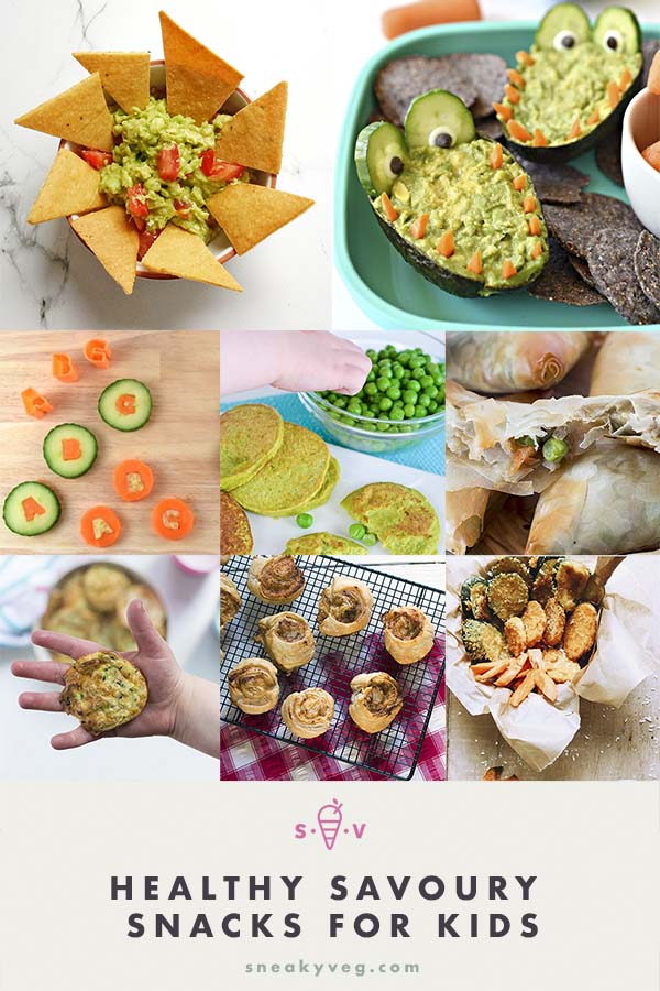 healthy savoury snacks for kids