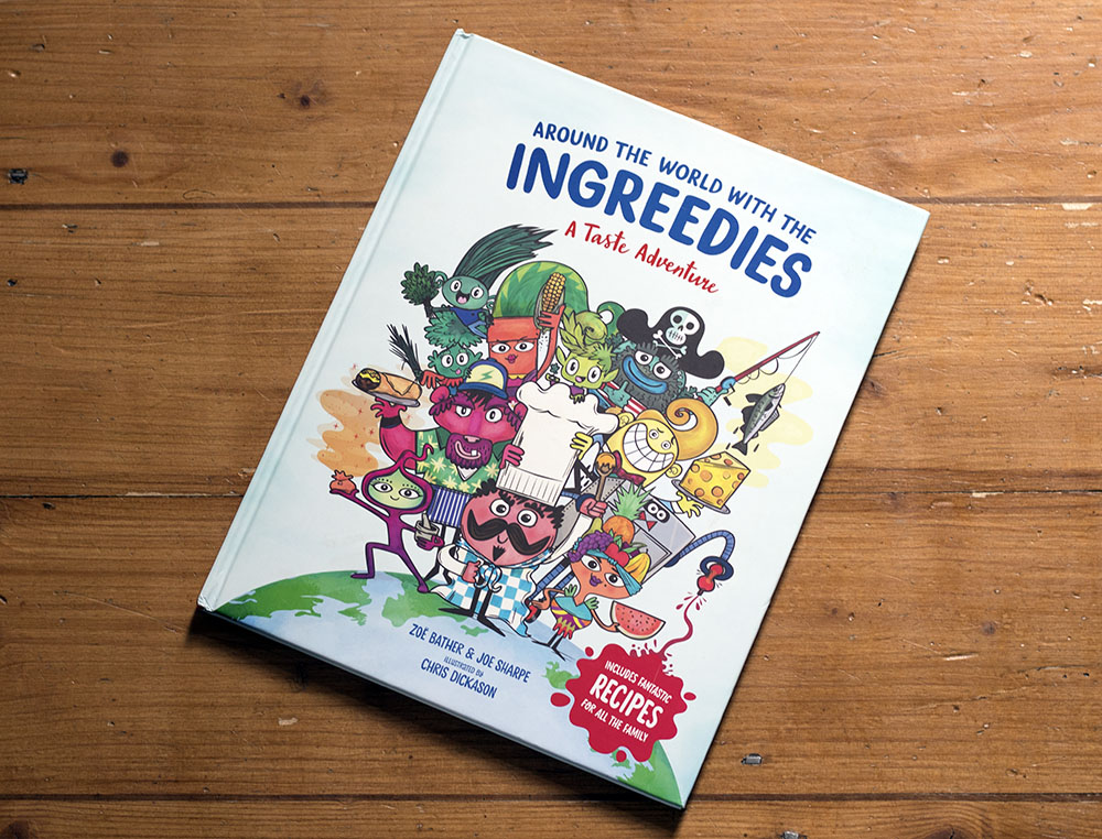 Ingreedies cookbook cover