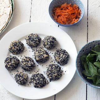 healthy falafel recipe