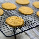 Three ingredient butternut squash cheesy oatcakes