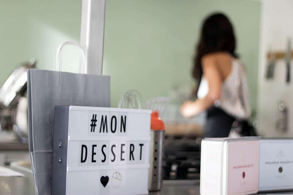 Mon Dessert macaron making kits